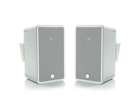 Climate 50 Outdoor 2-Way On-wall Satellite Speaker Pair White