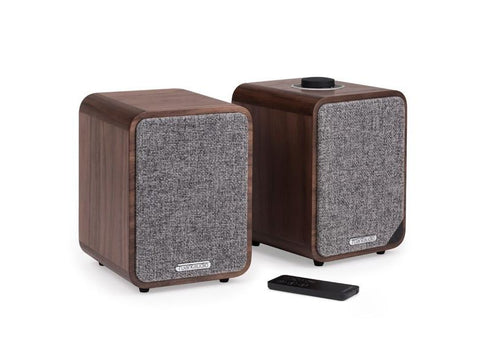 MR1 MK2 BLUETOOTH SPEAKER SYSTEM WALNUT