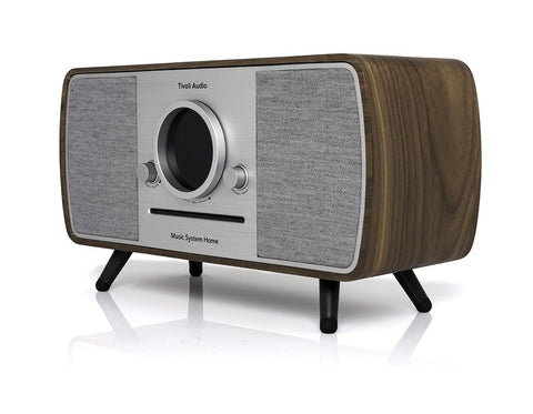 Music All-in-one System Home DAB+ Bluetooth Alexa Walnut