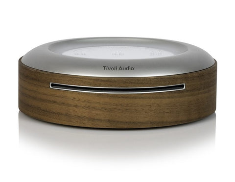 MODEL CD Wi-Fi CD Player + 2 ORB Wireless Speakers Walnut
