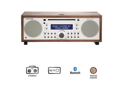 Music System BT- CD/AM/FM HI-FI System