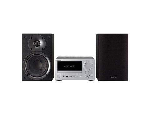 CS-375D CD Receiver System with DAB+ Bluetooth Silver