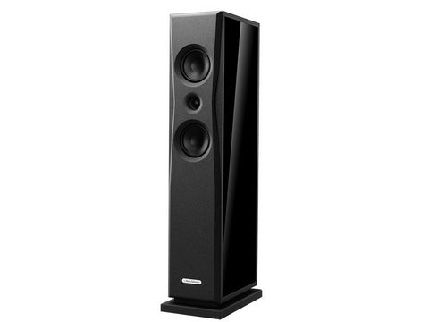 Overture O203F Floorstanding Speaker Pair Matte Light Oak