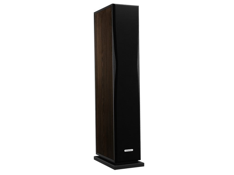 Overture O205F Floorstanding Speaker Pair Matte Dark Oak