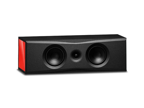 Overture O201C Center Speaker Gloss Red