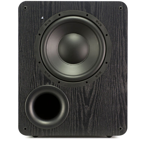 PB-1000 Ported Subwoofer - Black Ash