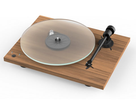 T1 Phono SB Turntable Walnut with Ortofon OM 5E Cartridge