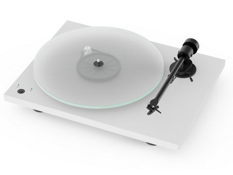 T1 Phono SB Turntable Matte White with Ortofon OM 5E Cartridge