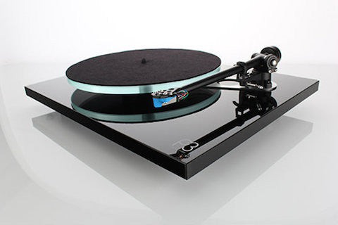 Planar 3 Turntable Gloss Black with Factory Fitted with Elys 2 Cartridge