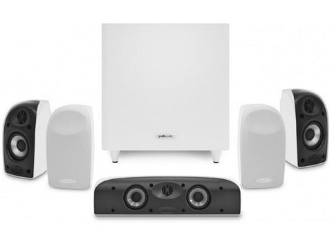 TL1700 6-piece Home Theater System White