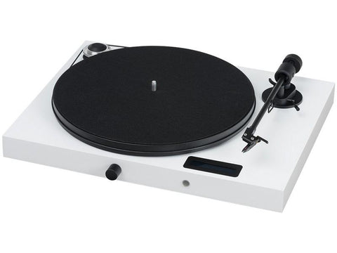 Juke Box E Turntable with Ortofon OM5e Cartridge WHITE