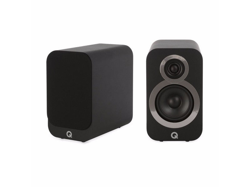 3010i Bookshelf Speaker Pair Black