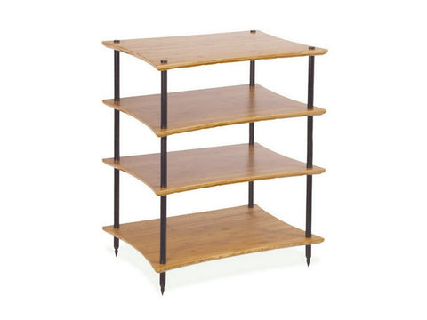 Single Wooden Shelf Only Q4 & Q4L EVO BAMBOO Hi-Fi Rack