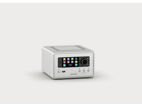 RELAX compact design radio with FM/DAB+ Silver