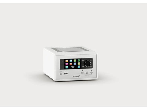 RELAX compact design radio with FM/DAB+ White