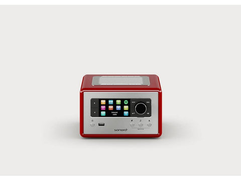 RELAX compact design radio with FM/DAB+ Red