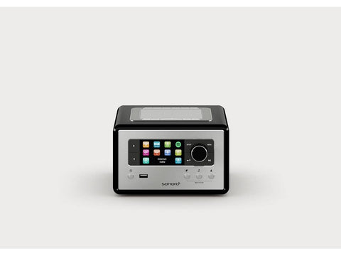 RELAX compact design radio with FM/DAB+ Black