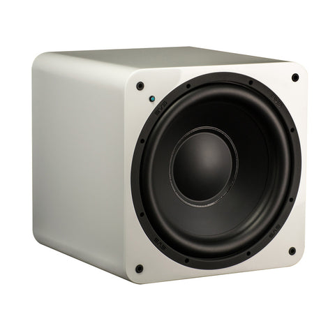 SB-1000 Ultra Compact Sealed Subwoofer - Gloss White