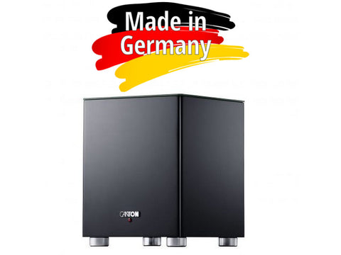 SMART SUB 8 Active Wireless Subwoofer Black - Made in Germany