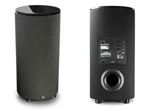 PC2000 Cylinder Subwoofer - Piano Gloss Black