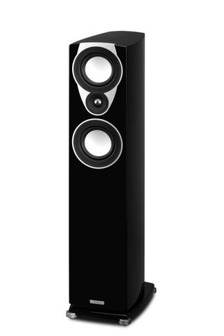 SX3 Black FLOOR STANDING SPEAKER PAIR