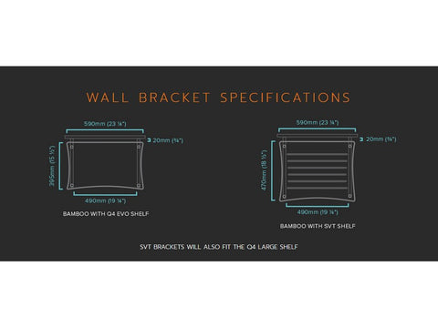 Q4 WALL Bracket Only