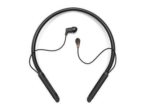 T5 Neckband Earphones Black