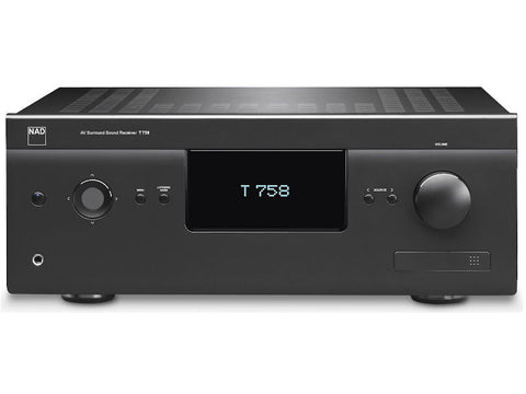 T 758 V3 Home Theatre AV Receiver