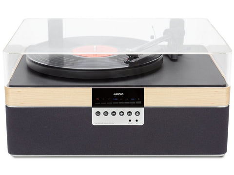 THE+RECORD PLAYER CARBON Wireless Bluetooth Streaming Maple