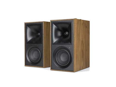 The Fives Powered Speaker System Pair Walnut
