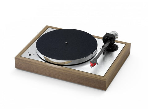 The Classic Evo Turntable Walnut with pre-fitted Ortofon 2M Black Cartridge