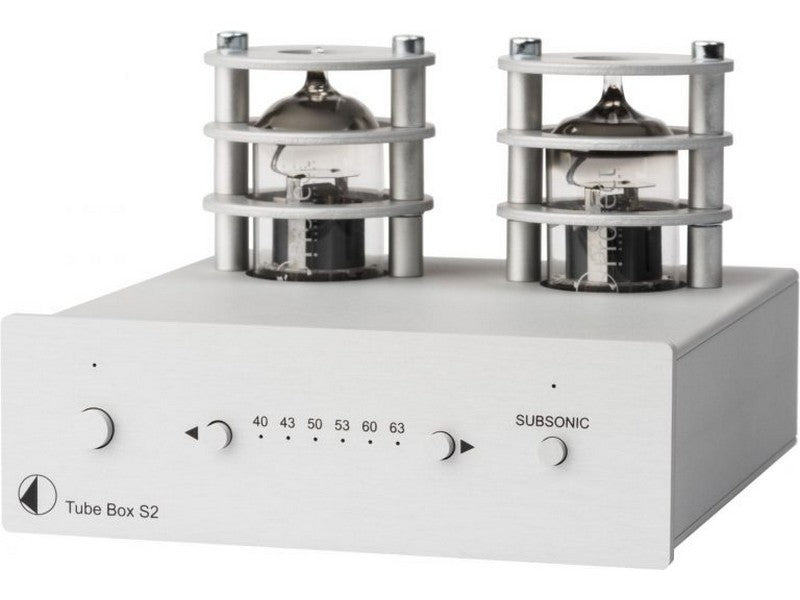 Tube Box S2 Phono Pre-amplifier Silver