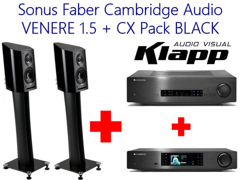 Sonus Faber Cambridge Audio VENERE 1.5 + CX Pack BLACK