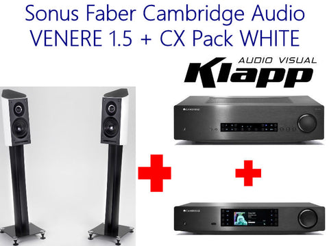 Sonus Faber Cambridge Audio VENERE 1.5 + CX Pack WHITE