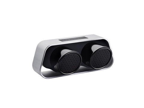 PORSCHE 911 High-end Portable Bluetooth Speaker Silver - Made in Germany