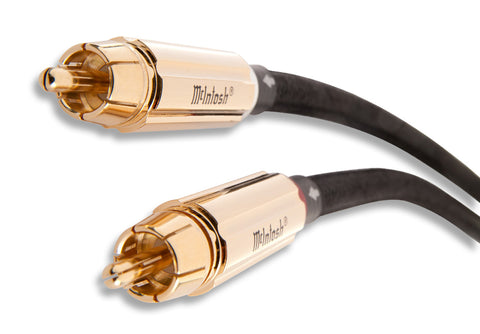 RCA Unbalanced Audio Cable Pair