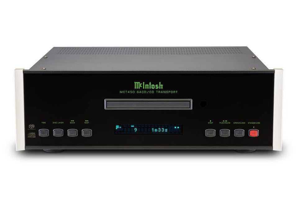 McIntosh MCT450 CD / SACD Transport | Klapp Audio Visual