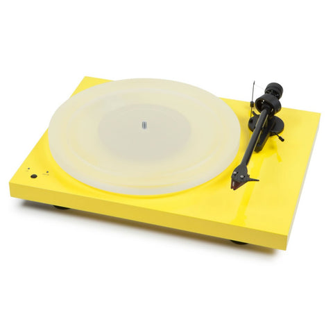 Debut Carbon Esprit SB YELLOW Turntable with Ortofon 2M Red Cartridge