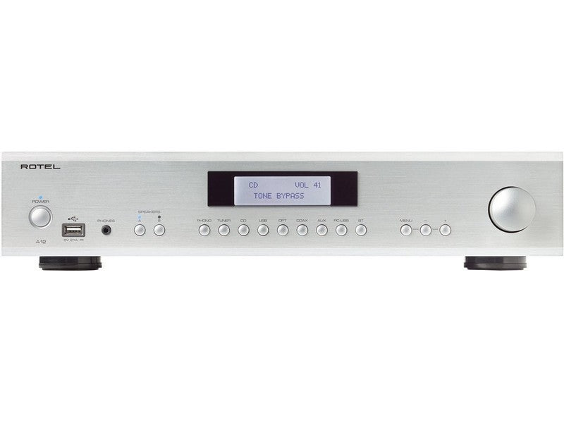 A12 Integrated Amplifier - Silver