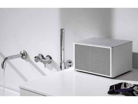 Acustica Lounge WHITE Handcrafted HiFi Speaker Bluetooth & Line-In