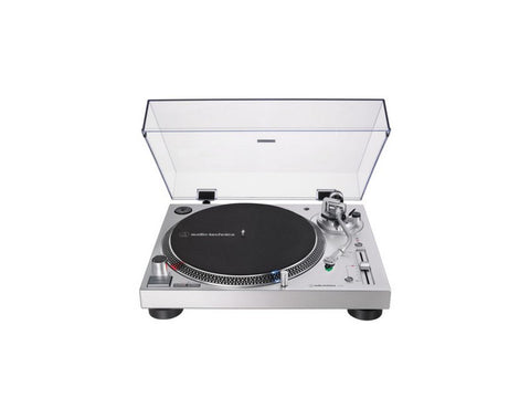 AT LP120XUSB Manual Direct-Drive Turntable Silver