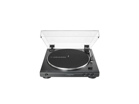 AT LP60X Fully Automatic Belt-Drive Turntable Black