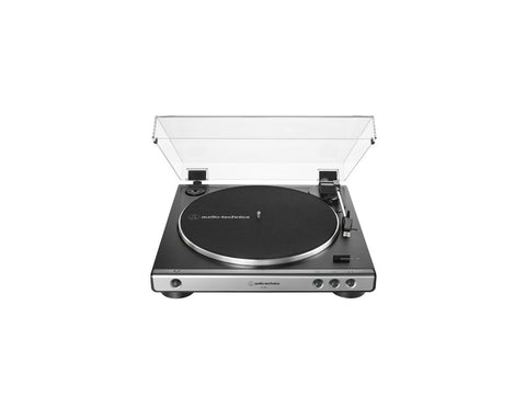 AT LP60X Fully Automatic Belt-Drive Turntable Gun Metal