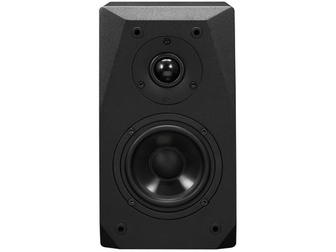 BASX Satellite Speaker Pair Black