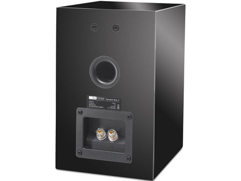Box 5 Piano Black - Speaker Pair