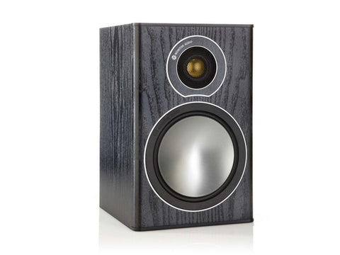 Bronze 1 Speaker Pair Black Oak