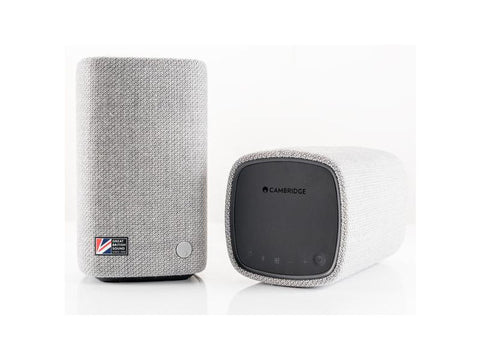 YOYO M Bluetooth Speaker Pair LIGHT GREY
