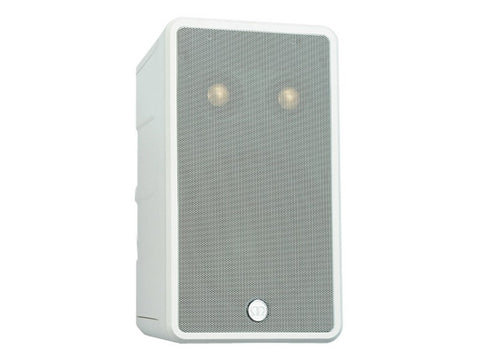 Climate 60-T2 On-wall Single-stereo Outdoor Satellite Speaker Each White