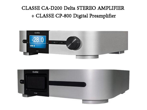 CA-D200 Delta STEREO AMPLIFIER + CP-800 Digital Preamplifier
