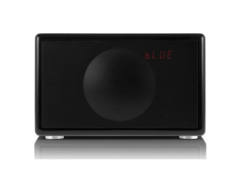 Classic S BLACK Handcrafted HiFi Speaker Alarm Clock Radio FM DAB+ Bluetooth